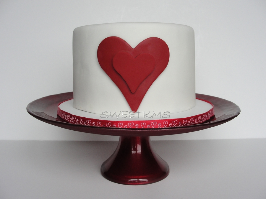 Double Heart Cake on Cake Central