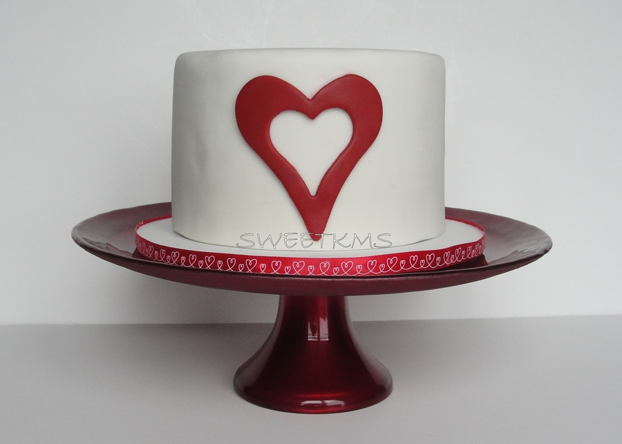 Open Heart Cake on Cake Central
