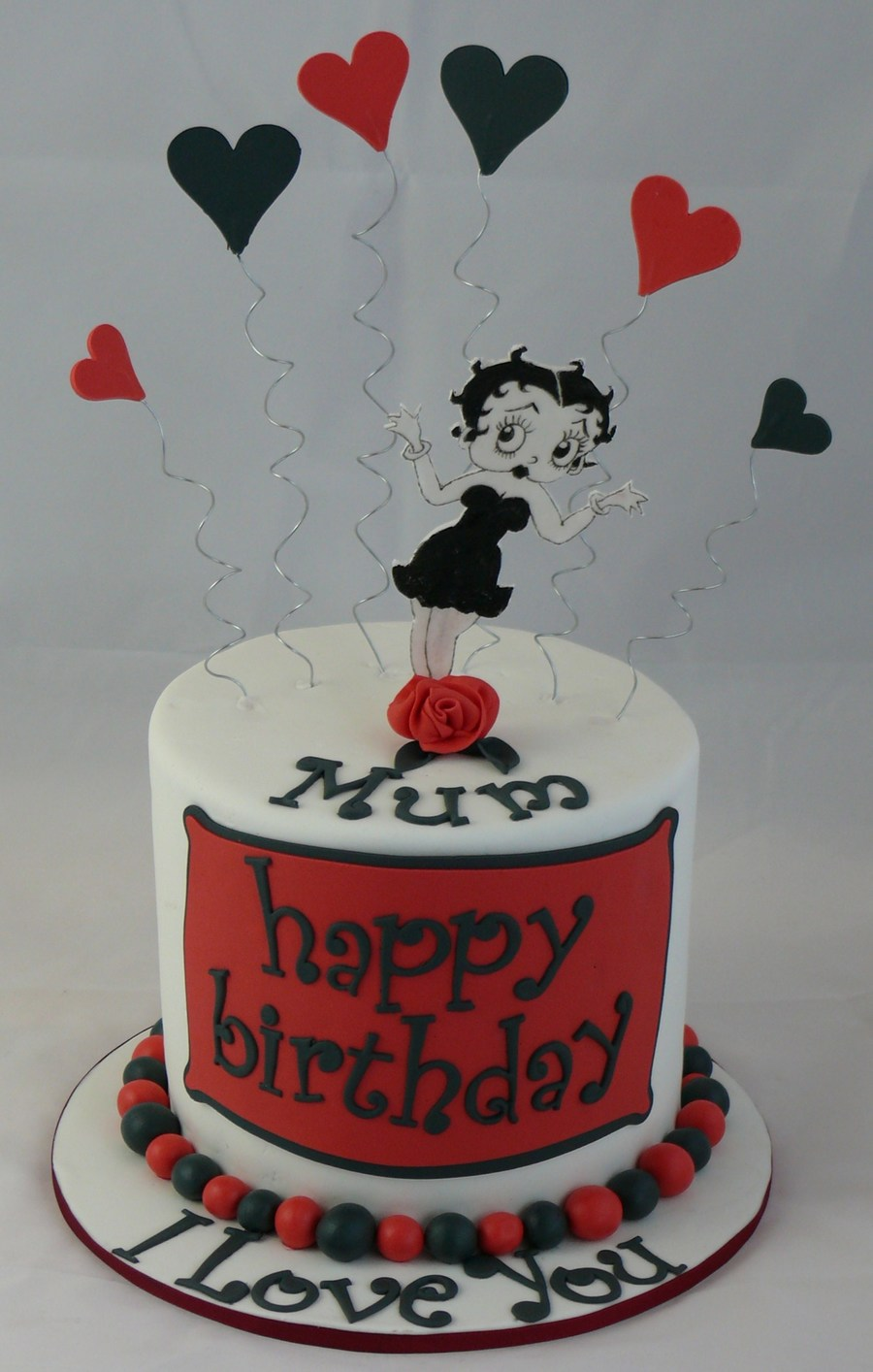 Terrific Betty Boop Birthday Cake Cakecentral Com Birthday Cards Printable Opercafe Filternl