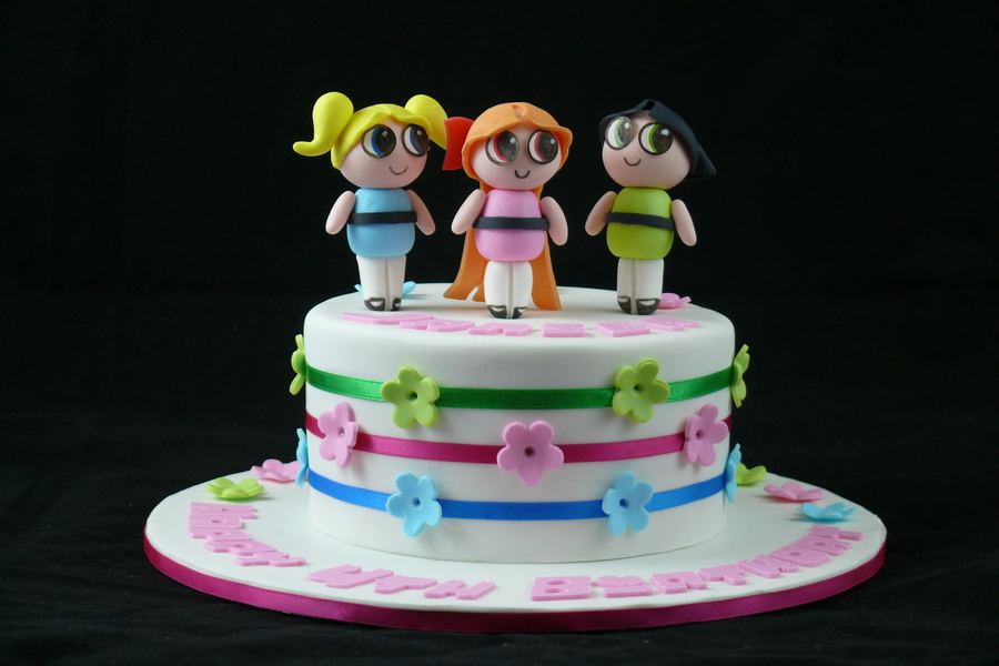 Powerpuff Girls Birthday Cake