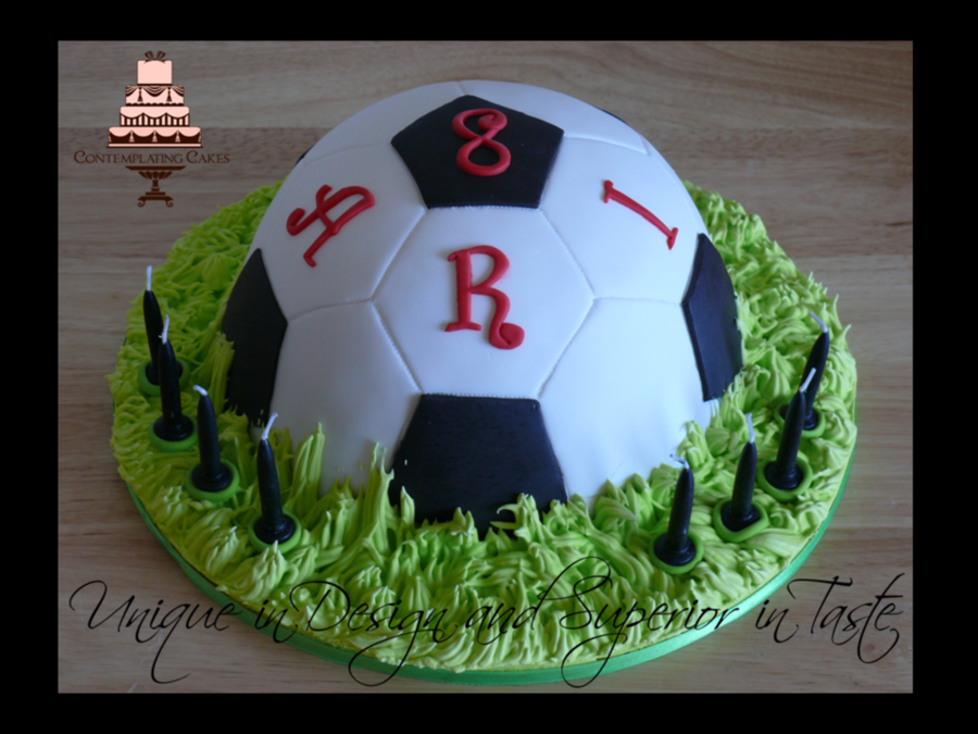Ari Soccer Ball Cakepng on Cake Central