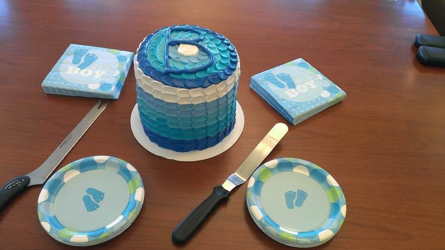 Baby Shower Cake For A Boy on Cake Central