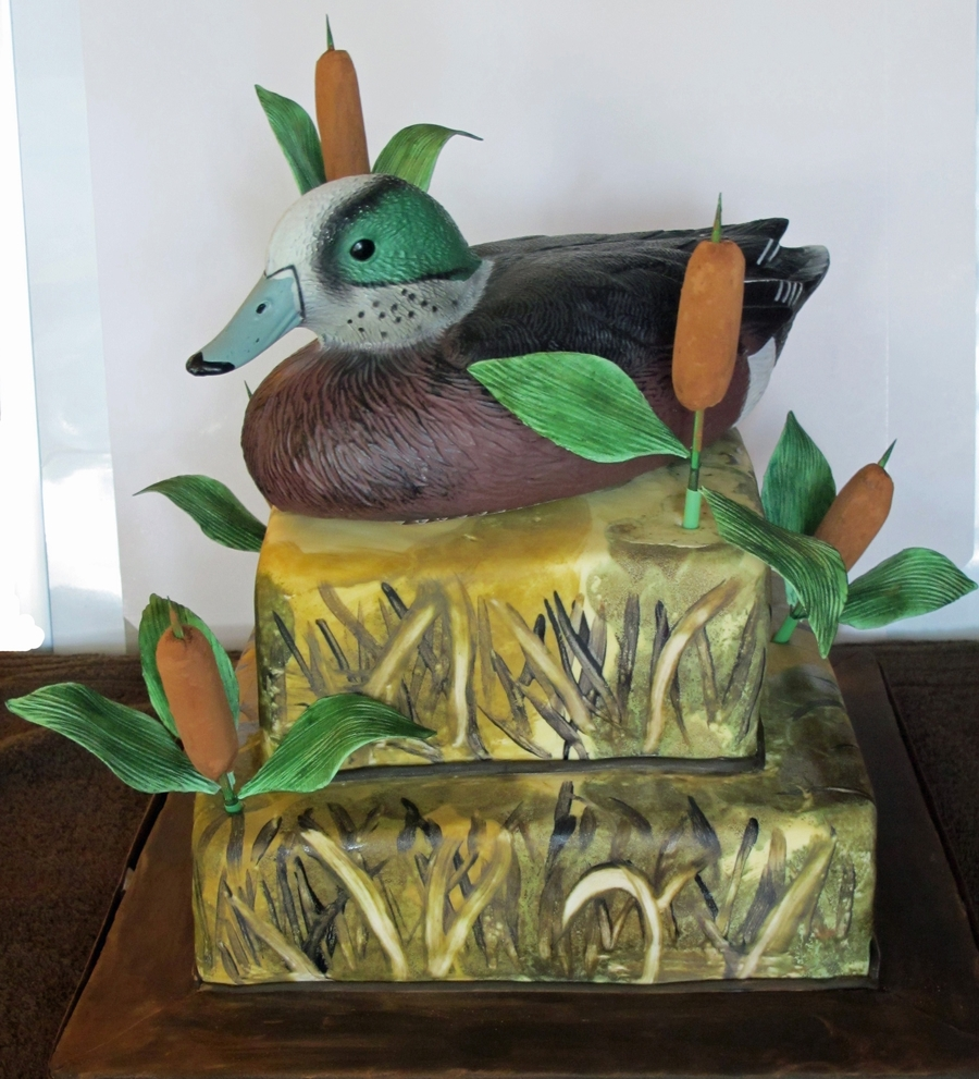 Duck Hunting Birthday Cake on Cake Central