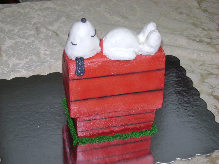 Snoopy on Cake Central