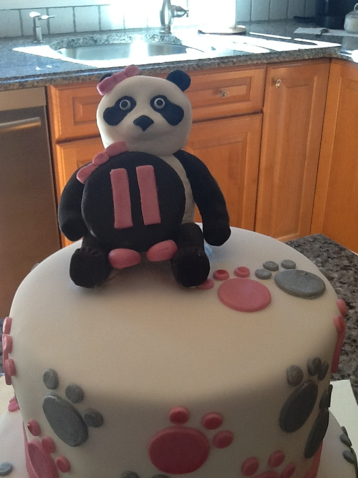 Panda 11th Birthday Cakecentral Com