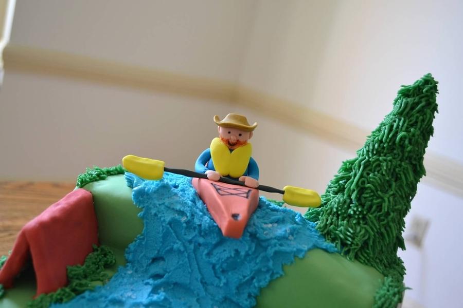 Kayaking Cake CakeCentralcom