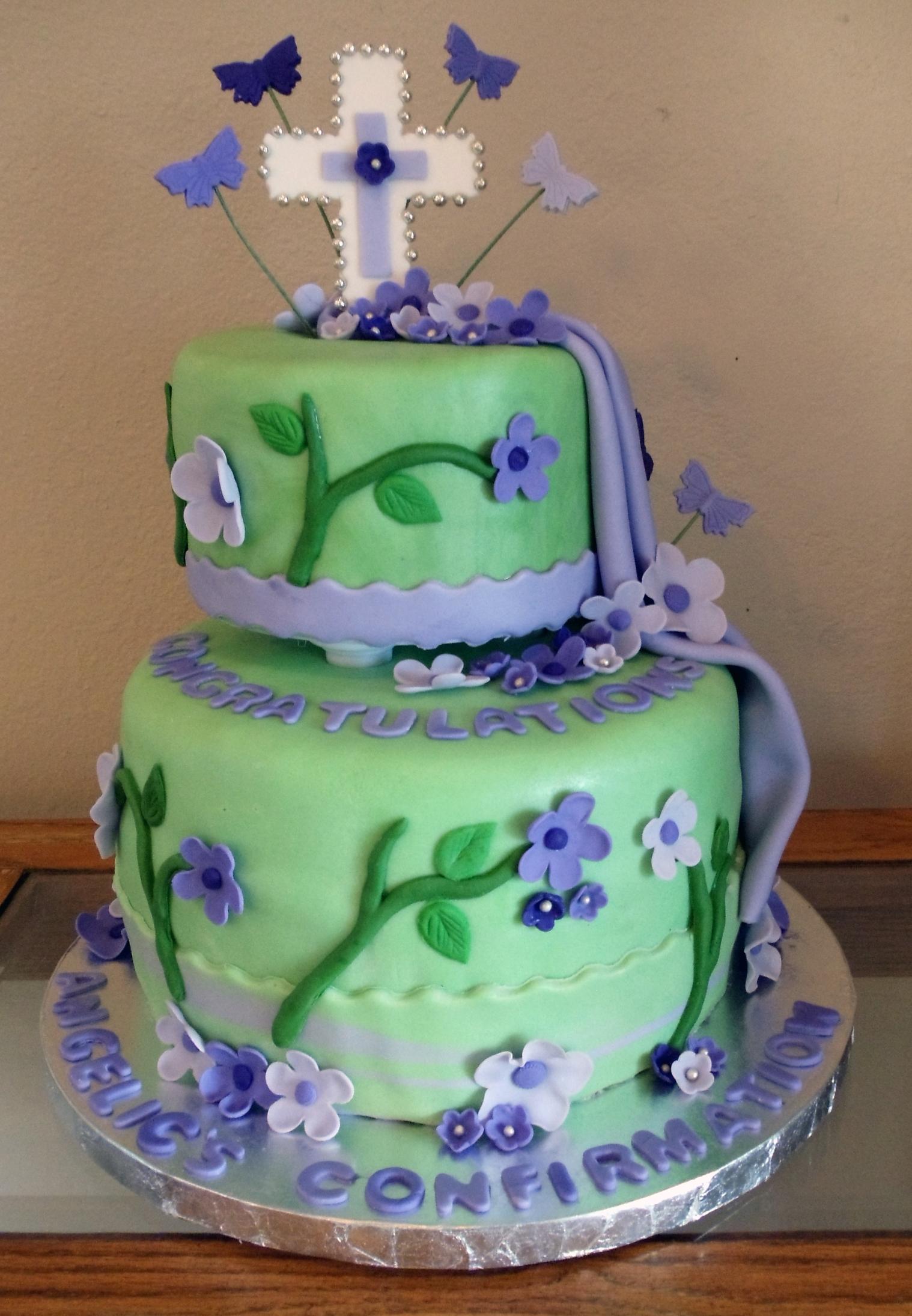 Catholic Confirmation Cake Cakecentral Com