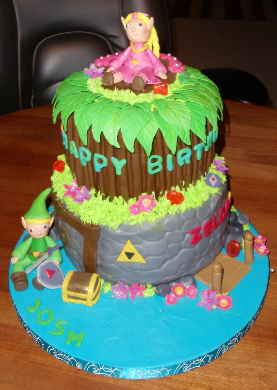 Brilliant Zelda Birthday Cake Cakecentral Com Funny Birthday Cards Online Elaedamsfinfo