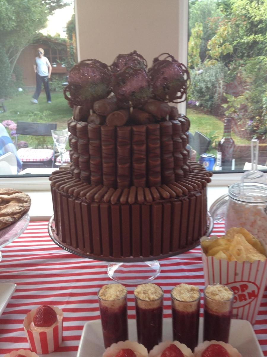 Chocolate Treat Birthday Cake