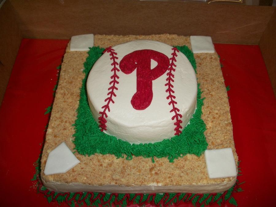 Phillies Baseball Cake Cakecentral Com