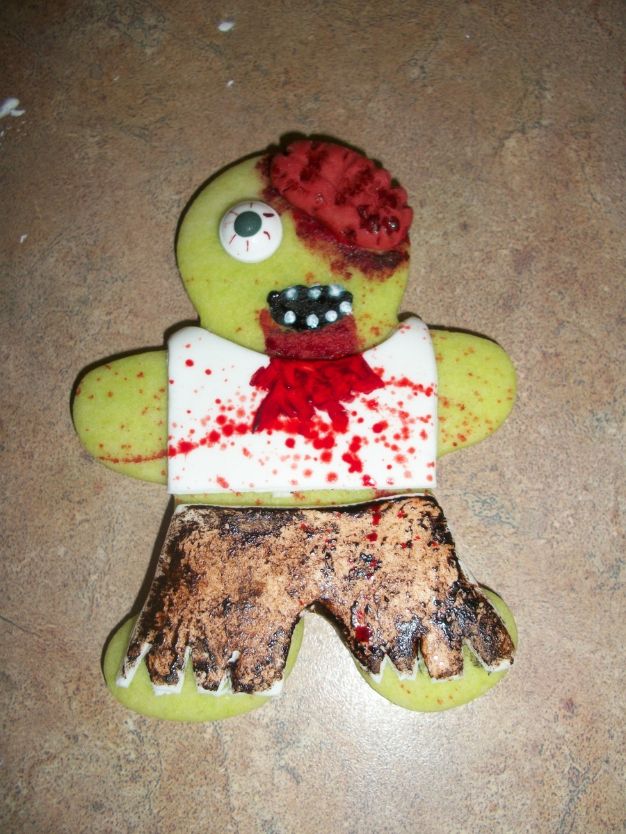 Zombie Cookie! on Cake Central