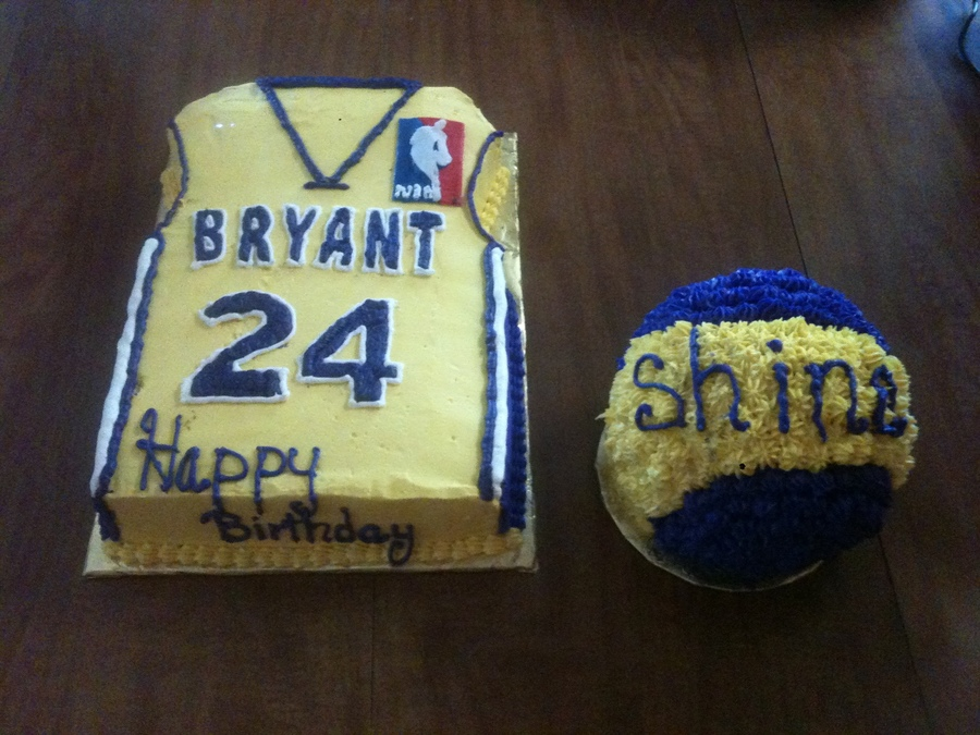 Kobe Bryant Jersey Cake Cakecentral Com