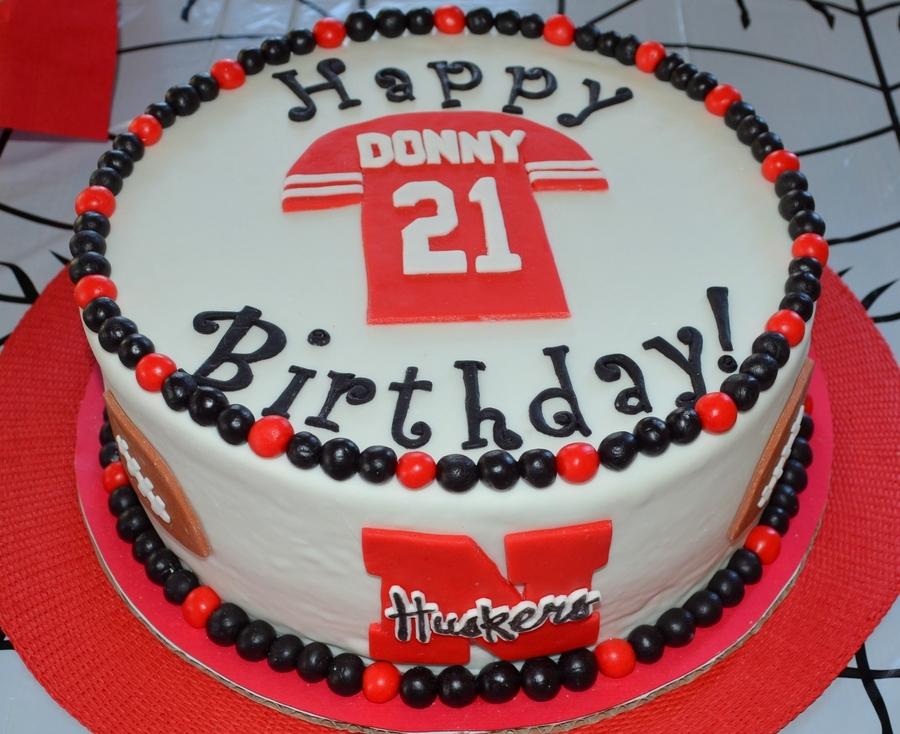 21st Birthday Cake For My Nephew Cookies Amp Cream Cake With Cookies