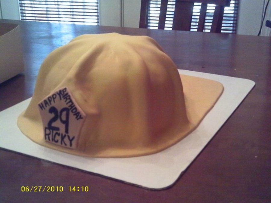 Fireman's Hat on Cake Central