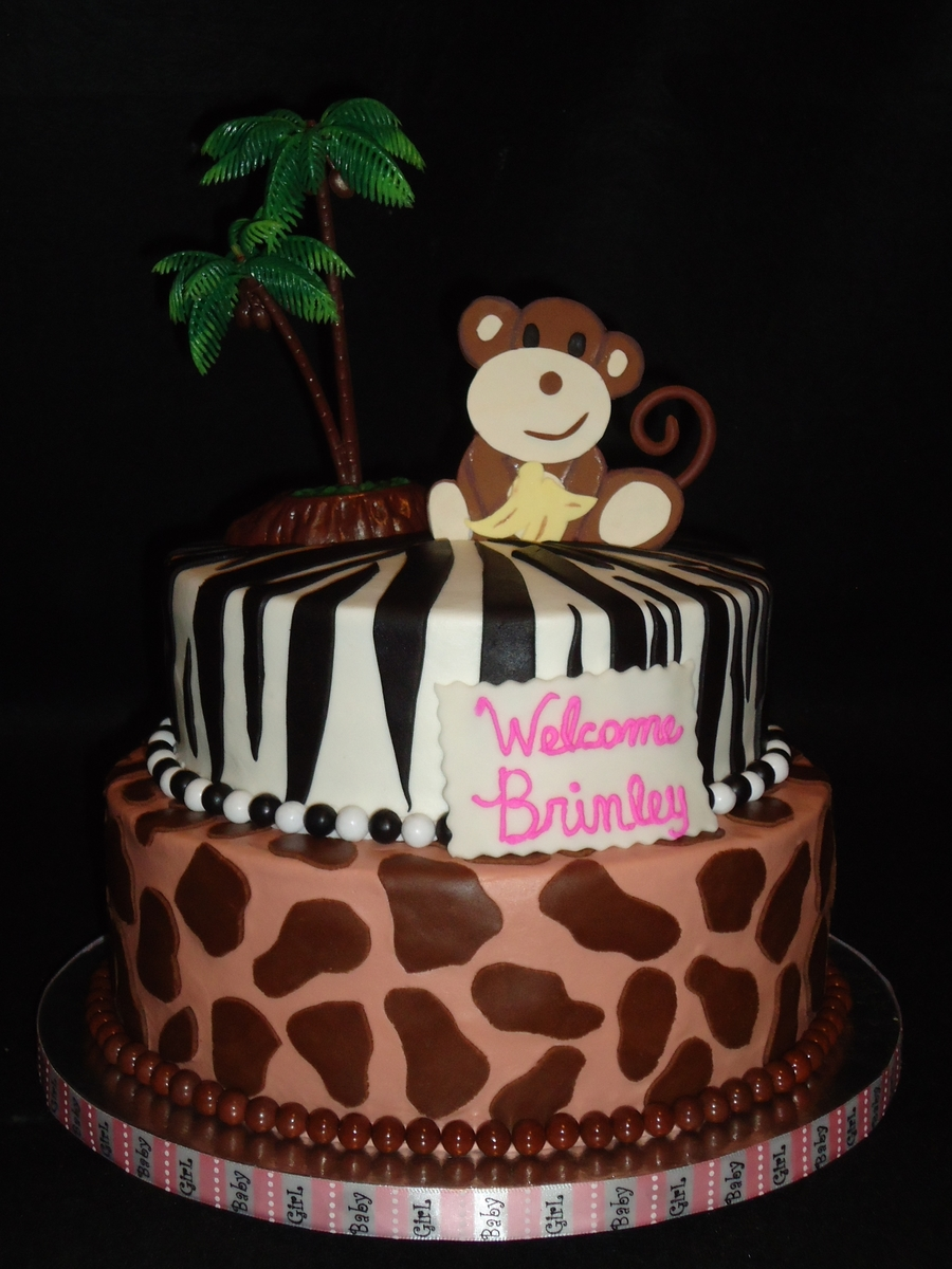 Safari Themed Baby Shower on Cake Central