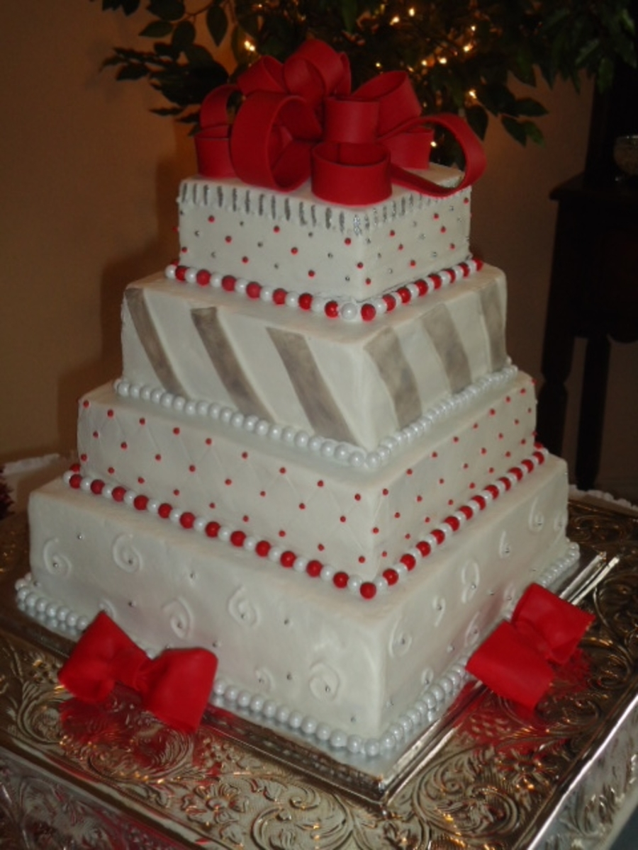xmas themed wedding cakes wedding cake cakecentral 27680