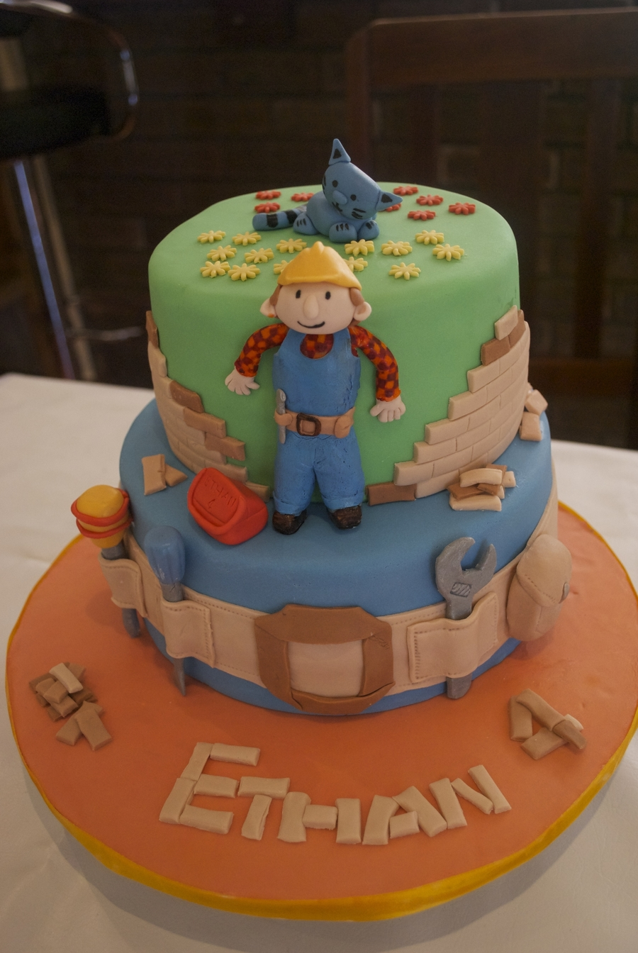 Strange Bob The Builder Birthday Cake Cakecentral Com Funny Birthday Cards Online Elaedamsfinfo