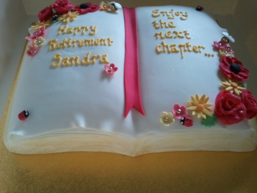 Happy Retirement Sandra on Cake Central