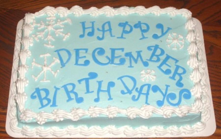 december birthday cakes - 900×566