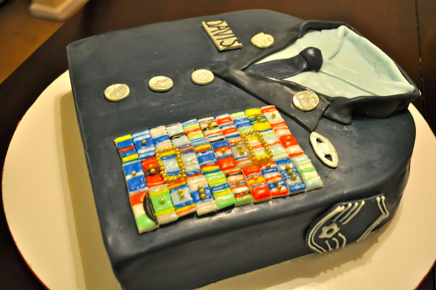 Senior Msgt Retirement on Cake Central