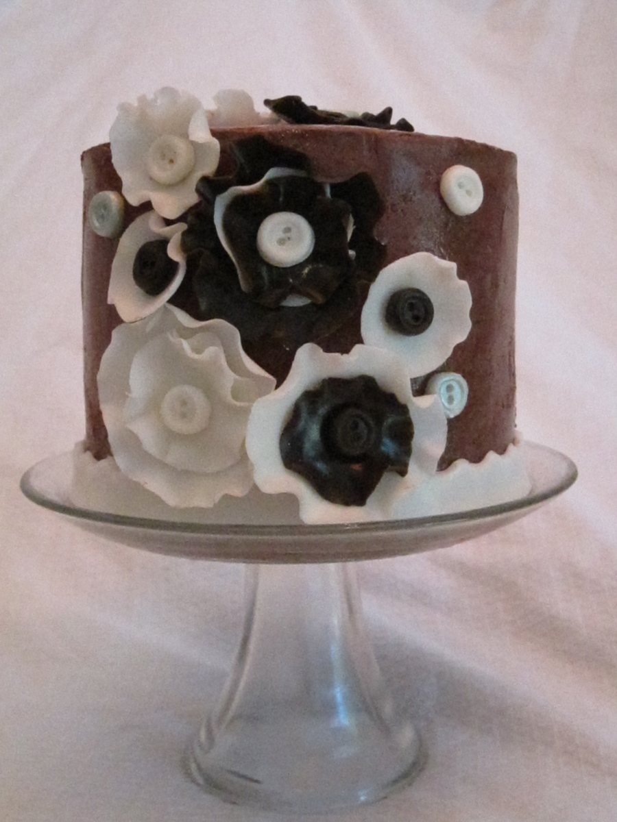 Brown Flowers on Cake Central