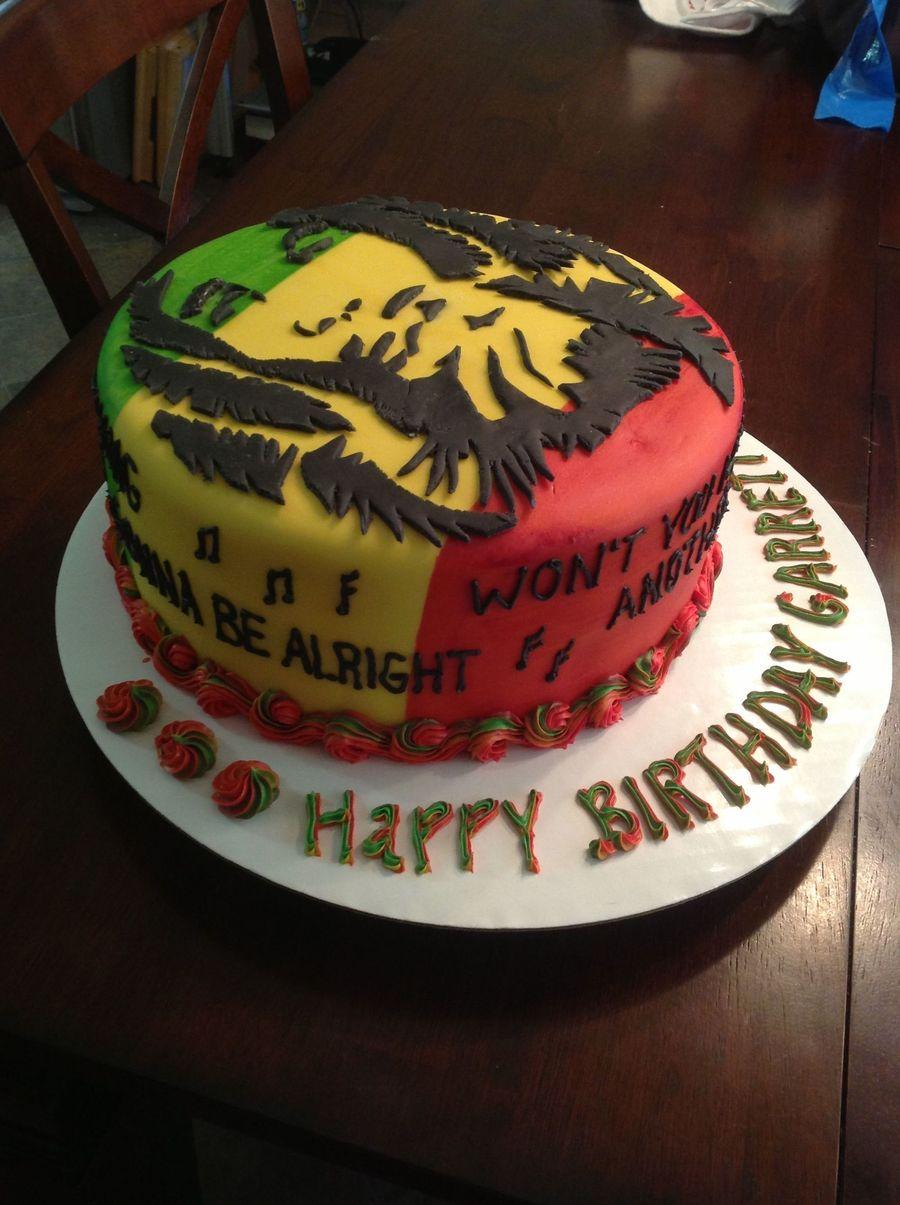 Bob Marley Birthday Cakecentral Com