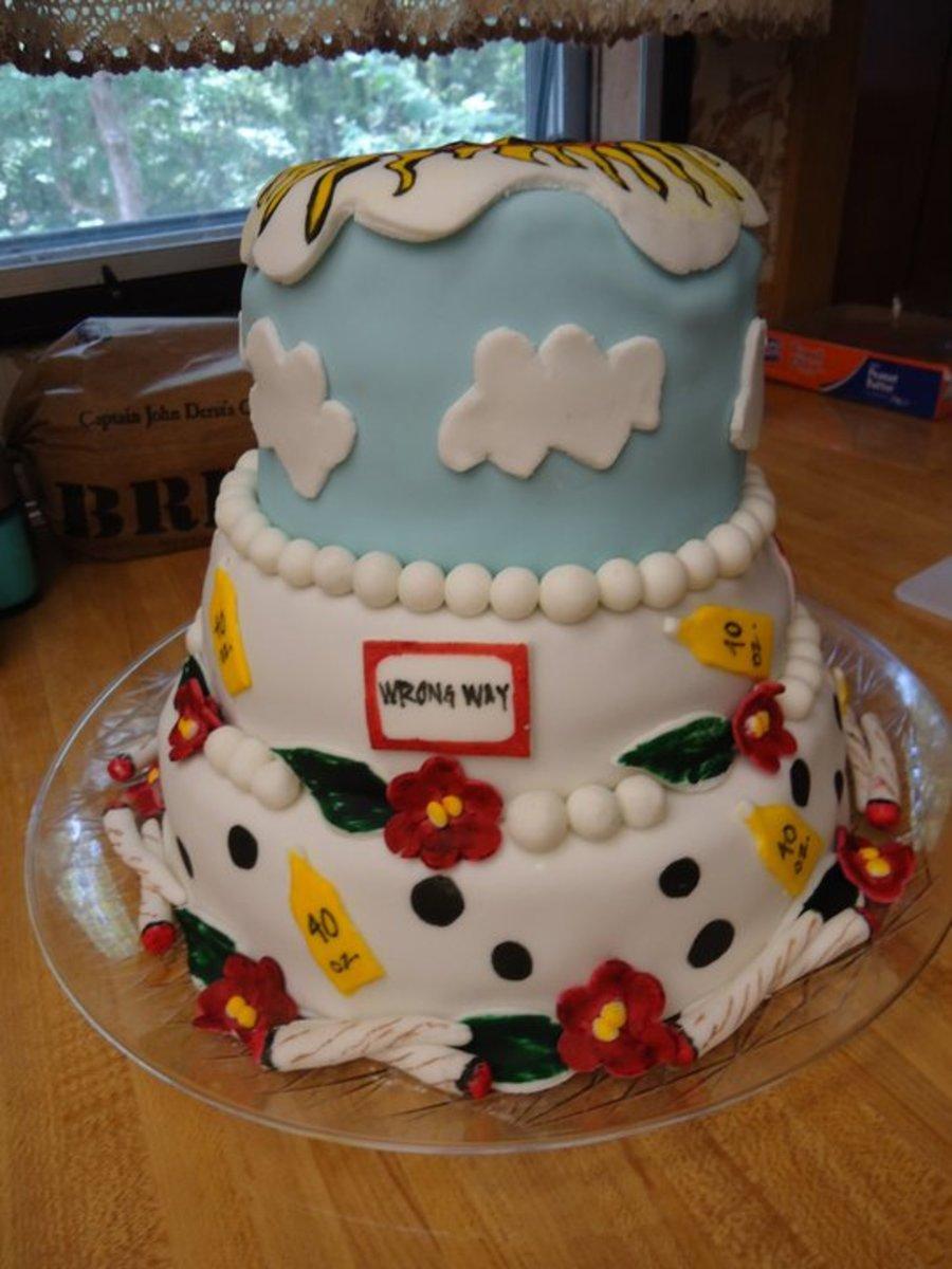 Hairdresser Cake Decorations