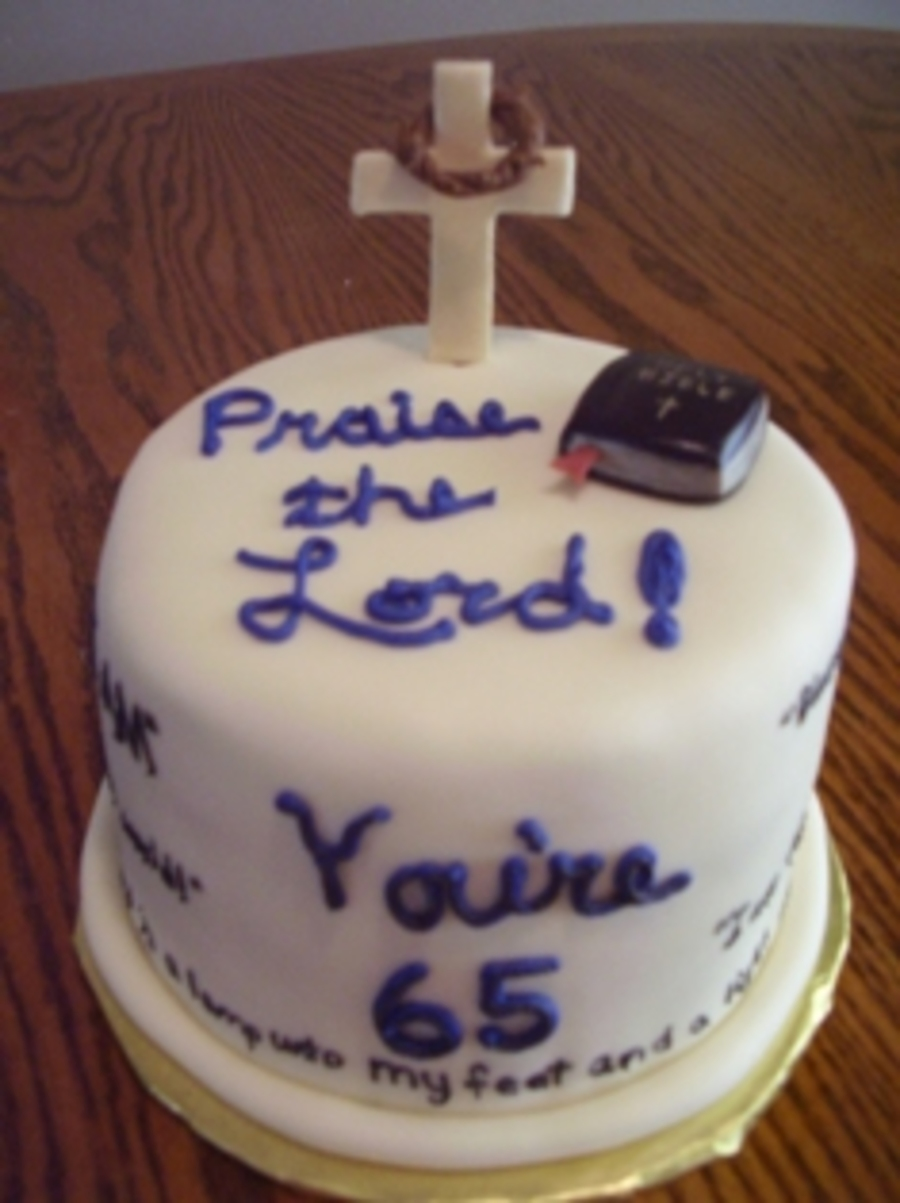 Bible Verse Cake on Cake Central
