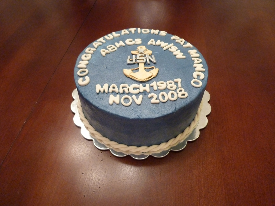 Us Navy on Cake Central