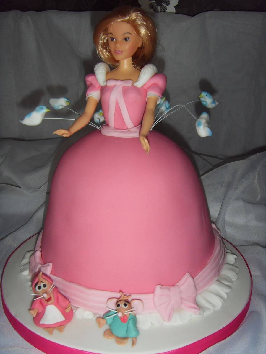 Cinderella Themed Princess Cake  on Cake Central