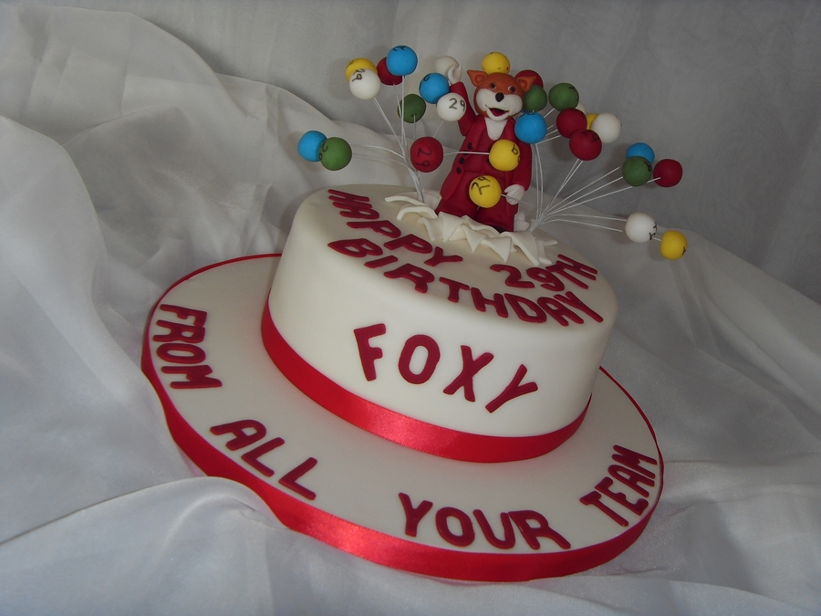 'foxy' Bingo Birthday Cake on Cake Central