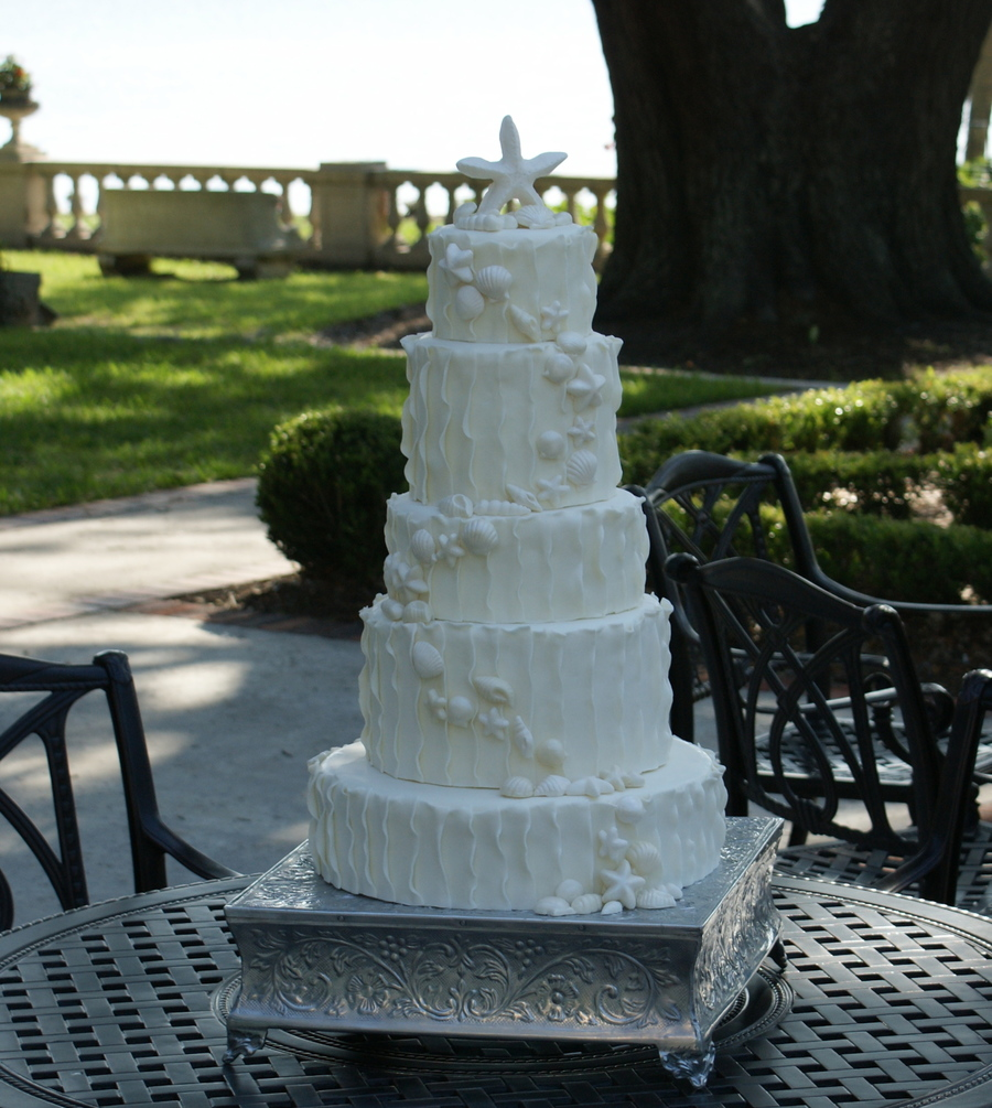 Seashell Wedding on Cake Central