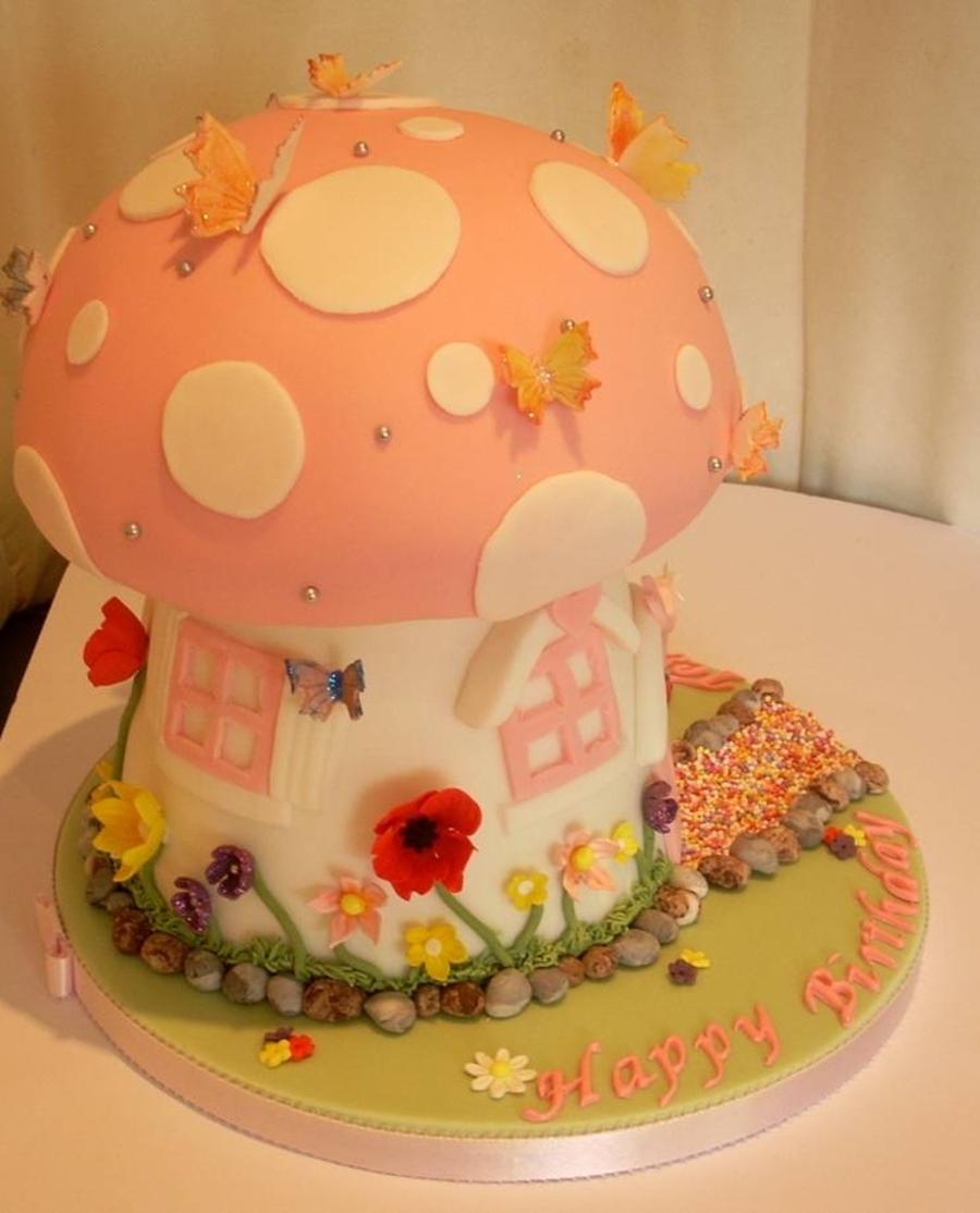 Mushroom Cake Cakecentral Com