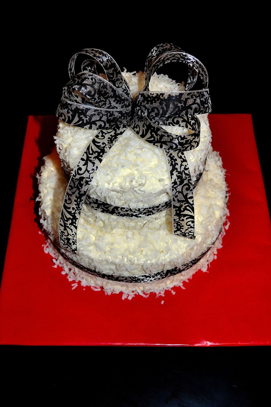 Black And White Birthday Cake on Cake Central