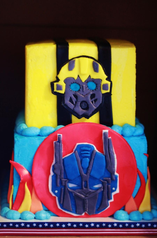 Awesome Transformer Birthday Cake Cakecentral Com Funny Birthday Cards Online Alyptdamsfinfo