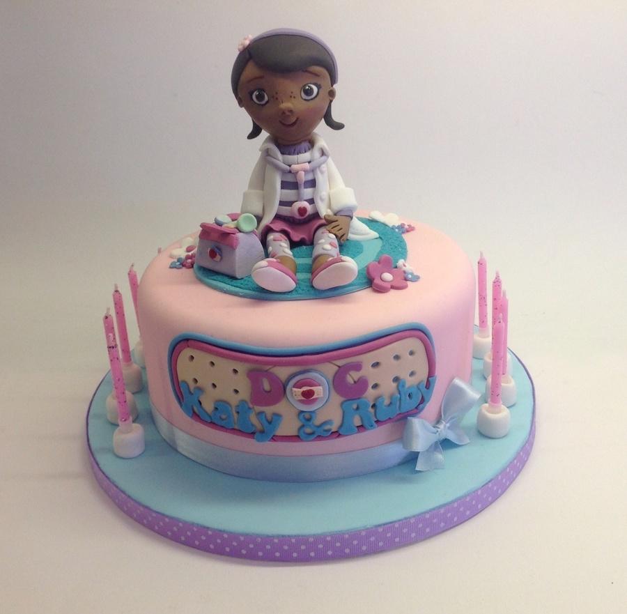 Doc Mcstuffins Cake - CakeCentral.com