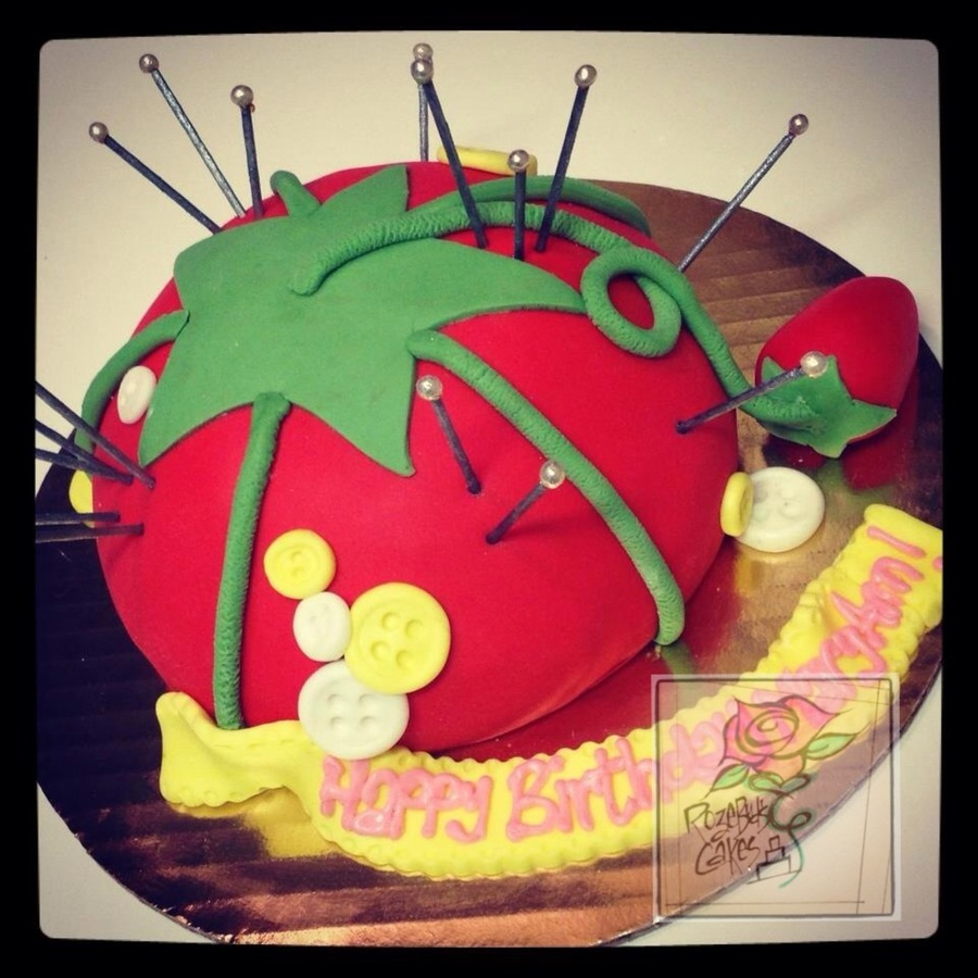 Tomato Pin Cushion Cakecentral
