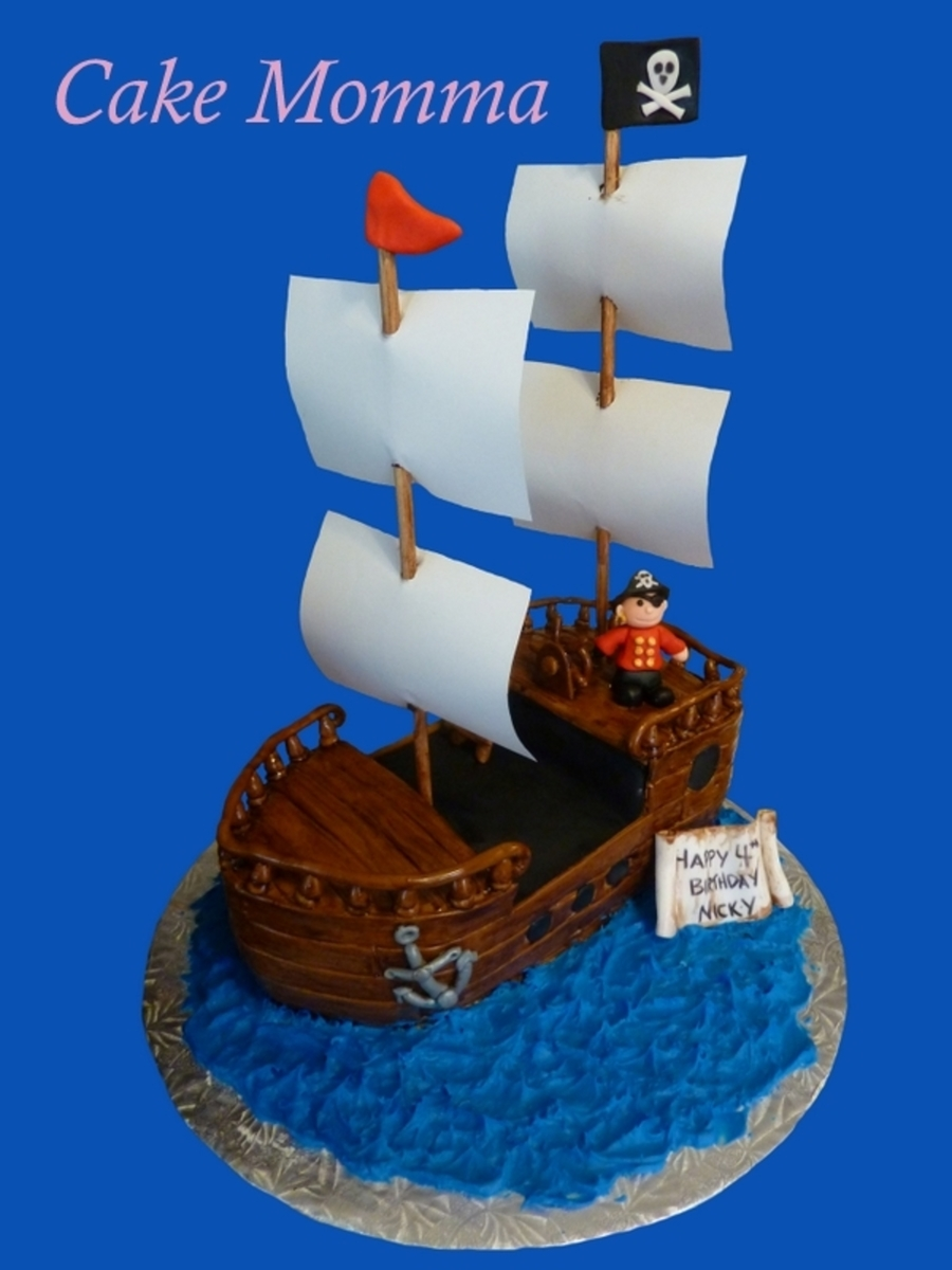 Ahoy Matey on Cake Central