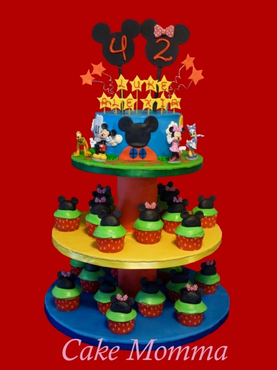 Mickey's Clubhouse on Cake Central