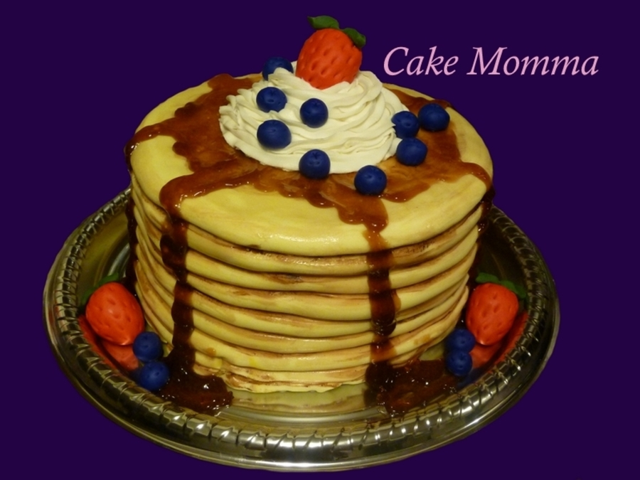 Yummy Pancakes on Cake Central