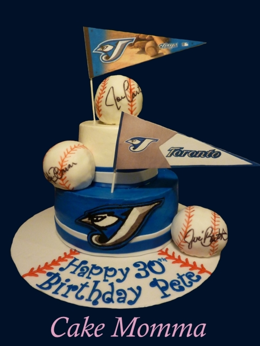 Go Jays! on Cake Central