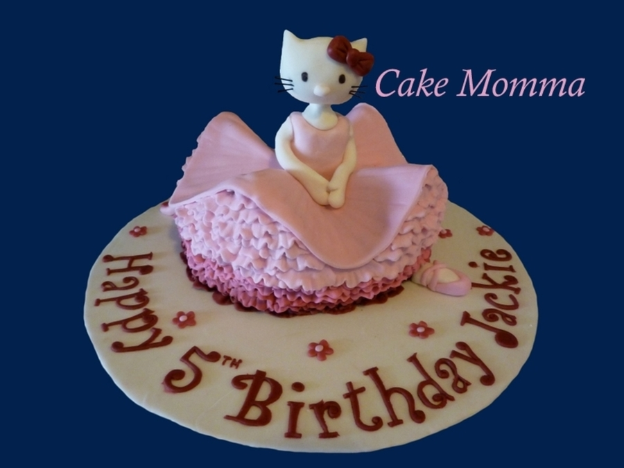 Hello Kitty Ballerina on Cake Central