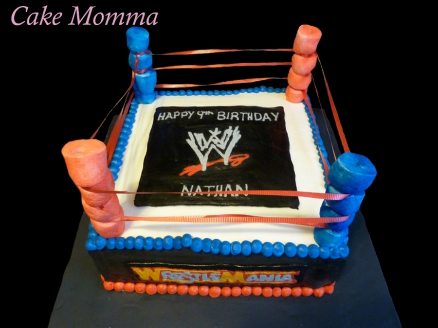 Wwe Ring on Cake Central
