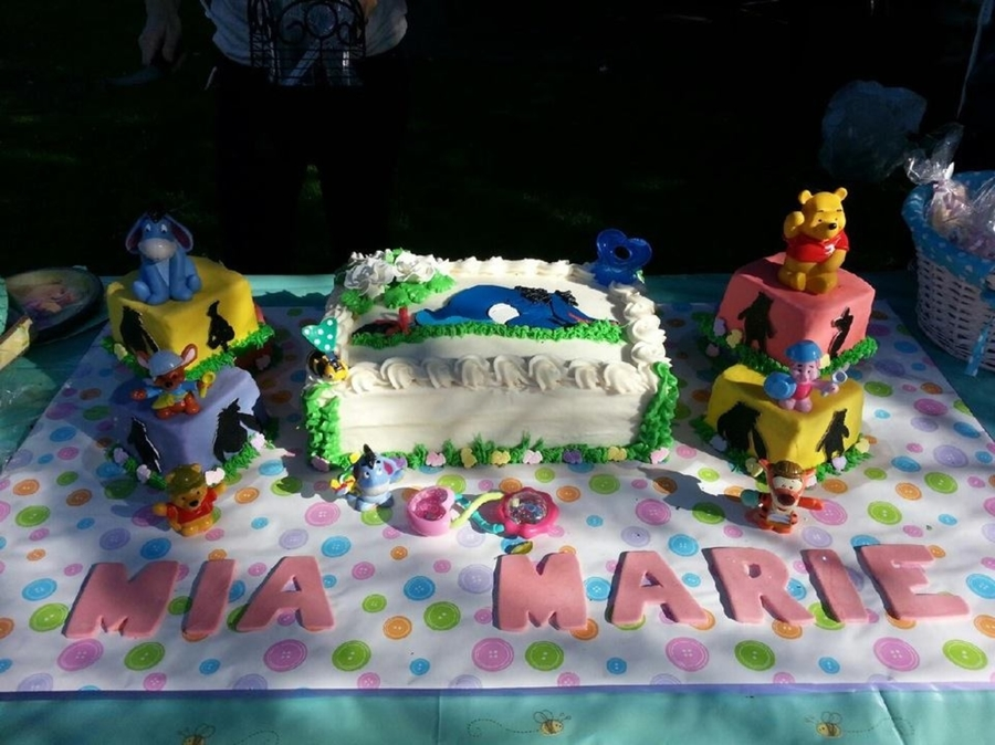 Winnie The Pooh Babyshower  on Cake Central