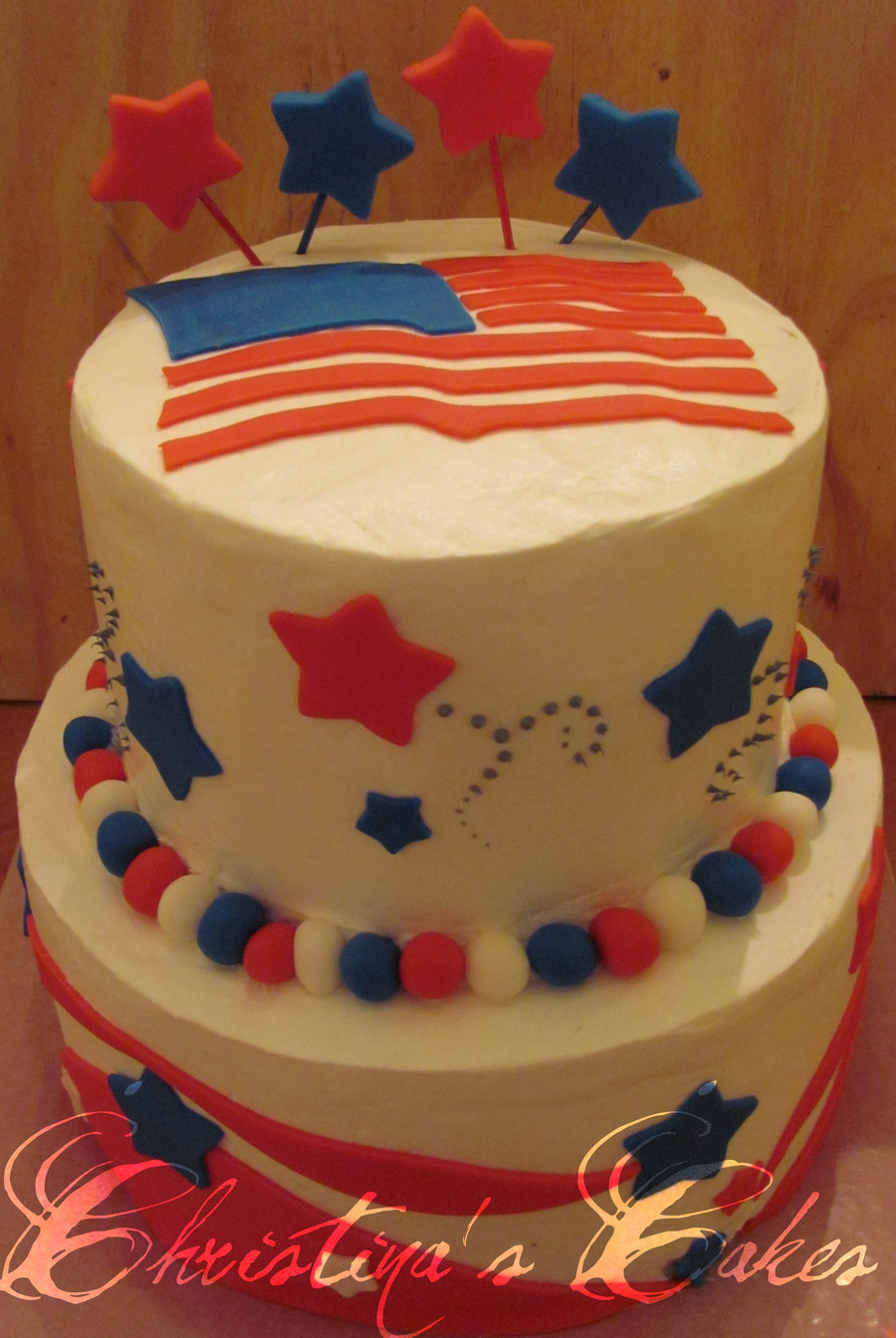 4Th Of July Birthday Cake on Cake Central