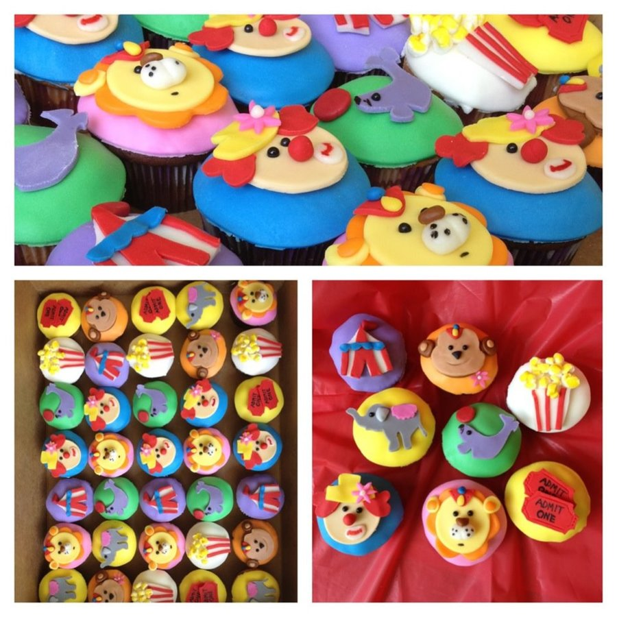 Circus Cupcakes on Cake Central