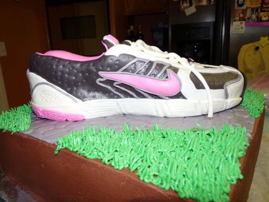 Nike Shoe Birthday Cake Cakecentral