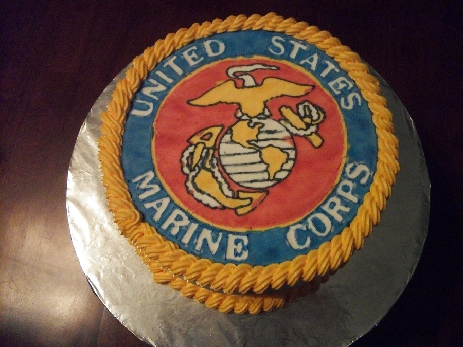 Marine Corps Cake on Cake Central