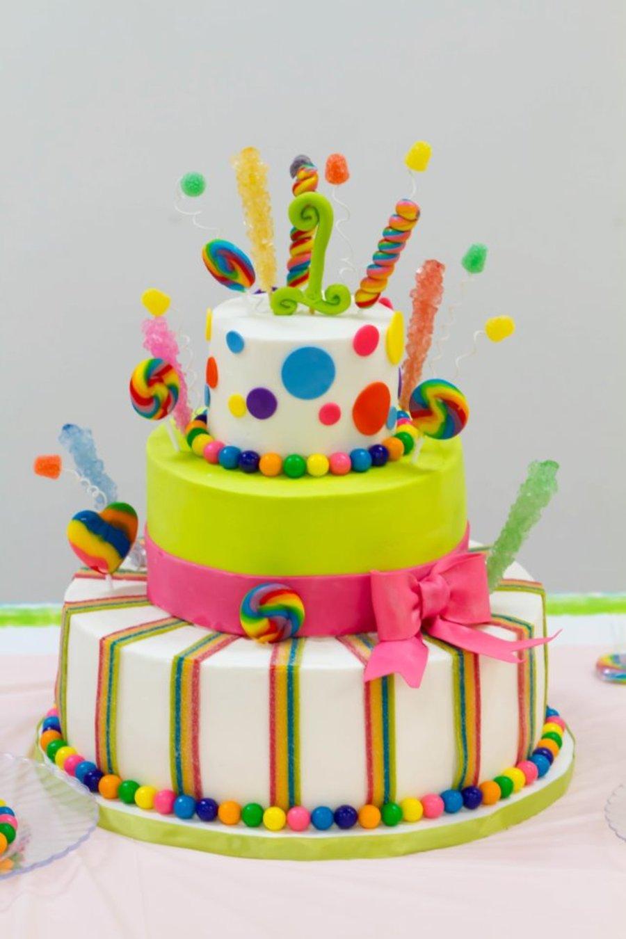 Candyland Celebration Cakecentral Com