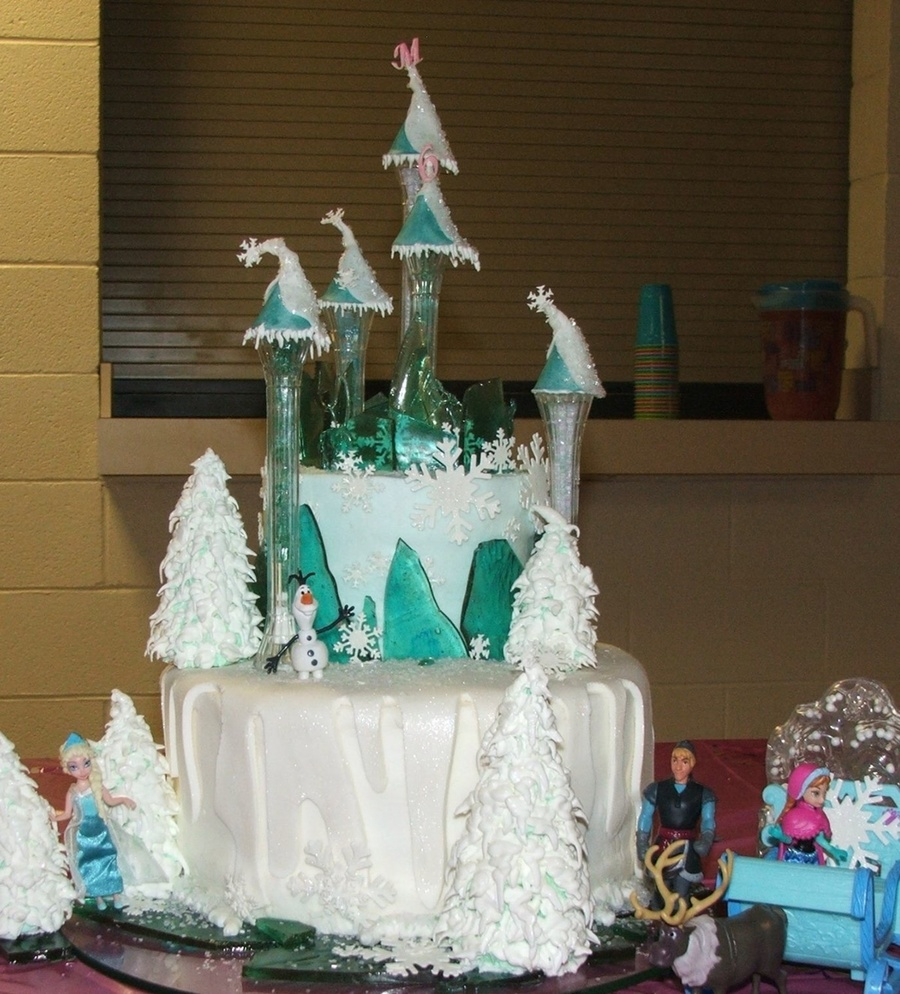 A Frozen Cake..not A Frozen Cake!